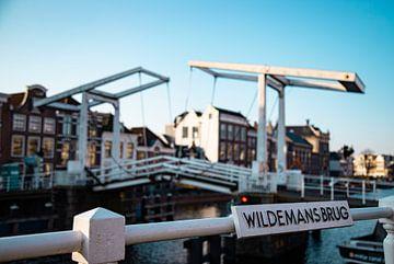 Wildemansbrug in Haarlem van Karin Bakker