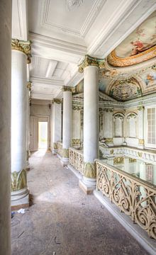 Prachtige architectuur in Italiaanse stijl van