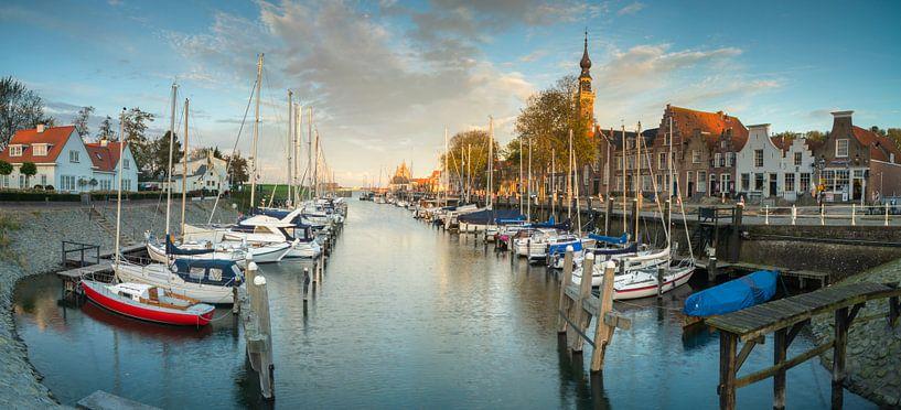 Panorama Veere van Jan Koppelaar