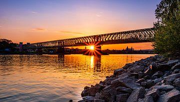 Südbrücke Mainz von Jens Sessler