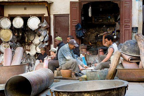 Dagelijks leven in Marokko van Gonnie van de Schans
