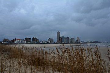 De Zeeuwse kust met de boulevard van Vlissingen van Jeroen Tiggelaar