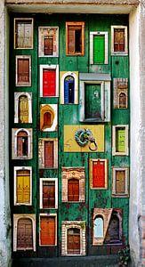 Storytelling doors