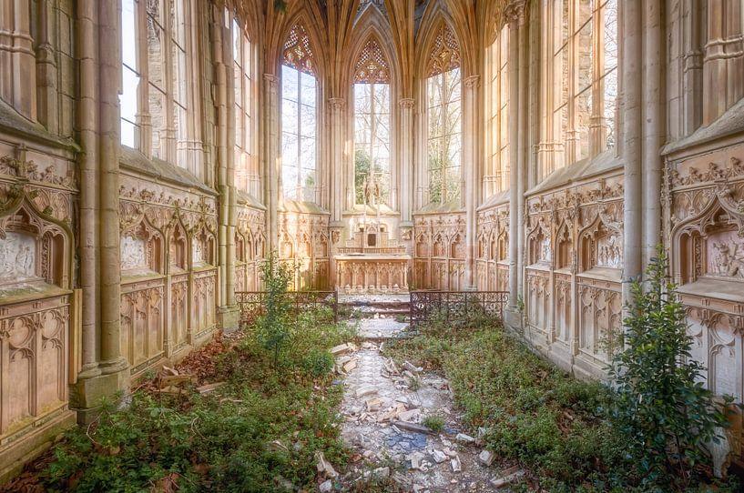 Prachtige verlaten Kapel. van Roman Robroek