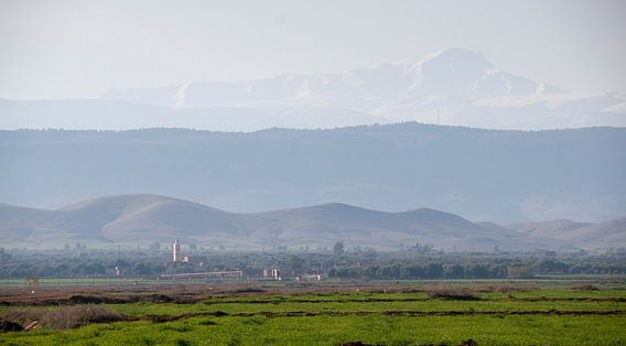 Atlas gebergte Marokko van Keesnan Dogger Fotografie