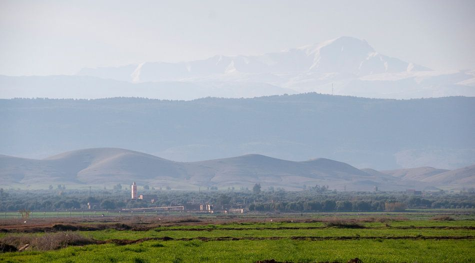 Atlas gebergte Marokko