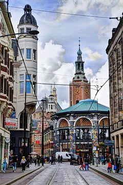 Binnenstad van Den Haag Nederland van Hendrik-Jan Kornelis
