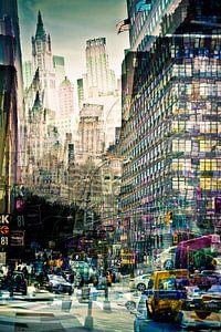 New York - Vibrant City van Mark Isarin
