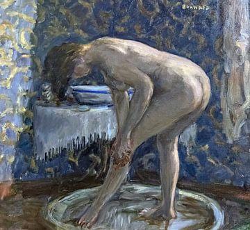 Akt in der Badewanne - Pierre Bonnard - 1903