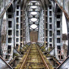 Industriële brug van Freek van den Driesschen