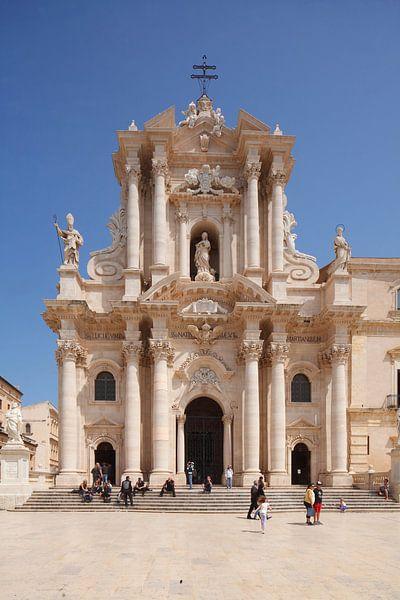 Kathedrale Duomo Santa Maria delle Colonne, La Vergine del Piliere, Piazza Duomo, Ortygia, Ortigia,  von Torsten Krüger