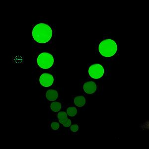 Glow Pendulum groen van Greetje van Son