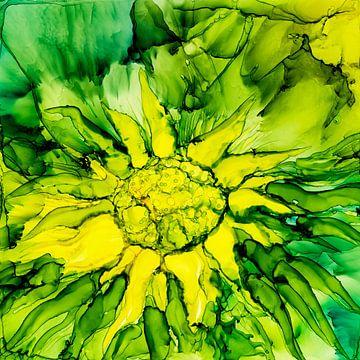Une petite fleur sur Agnieszka Zietek