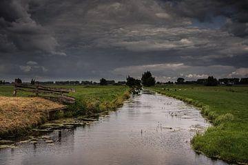 Holländische Polderlandschaft von Jos Reimering