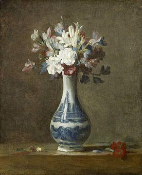 Vase de fleurs, Jean-Baptiste Siméon Chardin sur