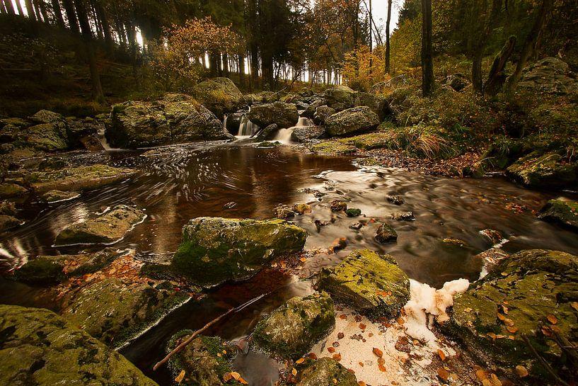 Herfst landschap van HJ de Ruijter