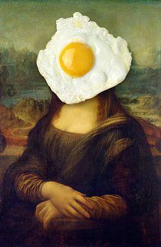 Mona Lisa - The Early Breakfast Edition von Marja van den Hurk