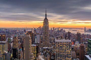 New York from 'Top of the Rock' sur Edwin Mooijaart