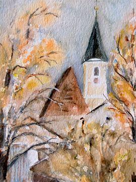 Julbach - Parochiekerk St. Bartholomeus van Christine Nöhmeier