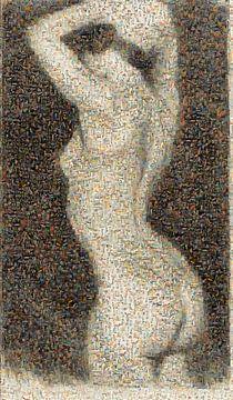 Mosaik, Zwanzig Studien, Akt von Max Klinger, 1914