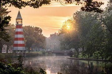 Mystisches Breda bei Sonnenaufgang