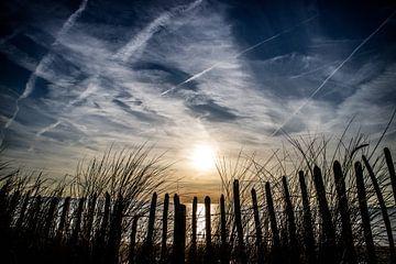 Kustlijn bij Zandvoort van Peter Heins