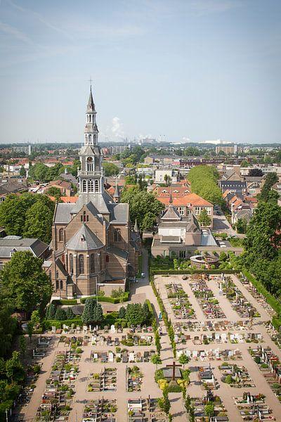 Laurentius kerk Heemskerk kleur van karen vleugel