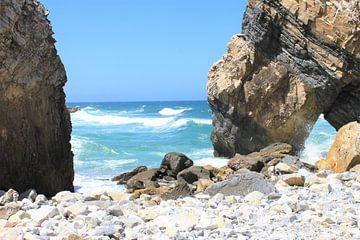 Felsen an der Küste von Portugal