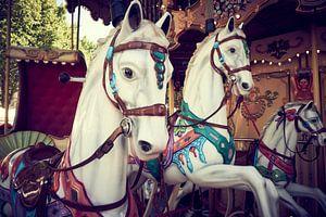 Draaimolen met paarden