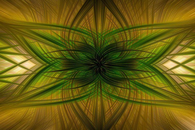 Digital abstract nr 4 van Leo Luijten