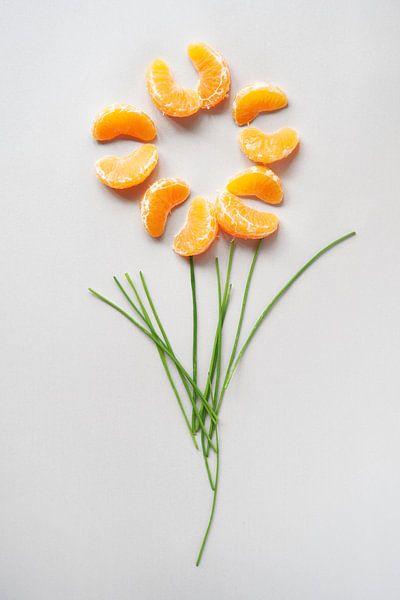 Oranje Fruit van Wendy Bos