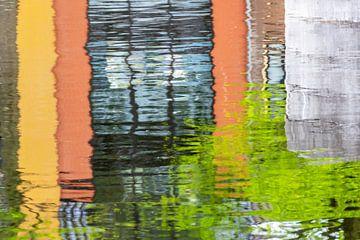 Kleurige Reflectie van Paula van der Horst