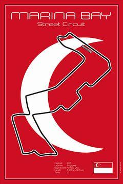 Racetrack Singapore van Theodor Decker