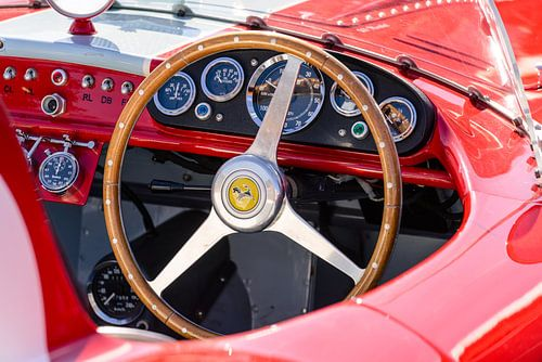 Ferrari 500 Mondial dashboard van Sjoerd van der Wal