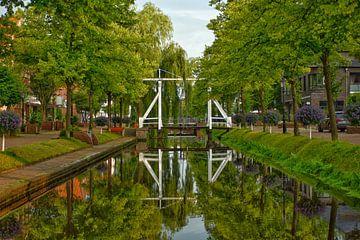Reflectie van de brug van Dirk Herdramm