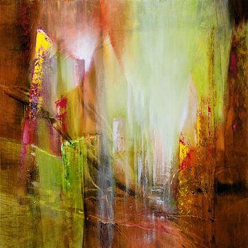 Transparenz in rot und grün von Annette Schmucker
