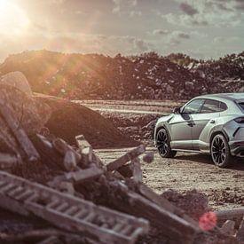 Lamborghini Urus Sonnenuntergang Träume von Sytse Dijkstra