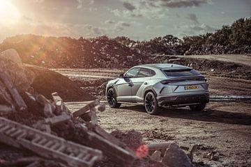 Lamborghini Urus Sonnenuntergang Träume