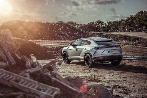 Lamborghini Urus Sunset dreams sur Sytse Dijkstra
