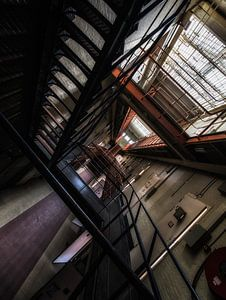 Abandoned Prison van