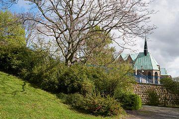 Magdalenenkapelle am Ufer der Elbe bei Magdeburg von Heiko Kueverling