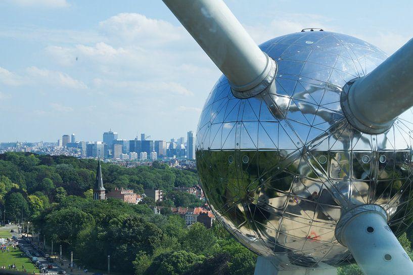 Atomium   Brussel van E.M Hak