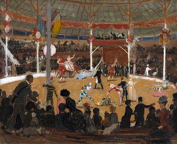 Zirkus, Suzanne Valadon, 1889 von Atelier Liesjes