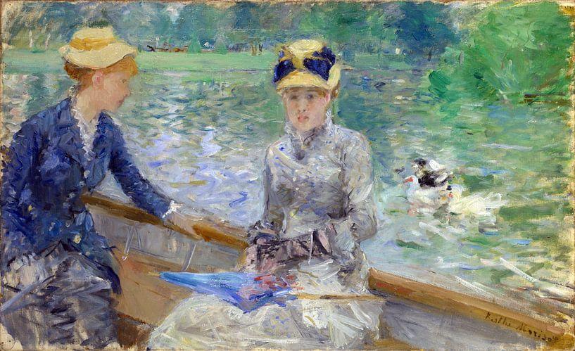Summer's Day, Berthe Morisot von Meesterlijcke Meesters
