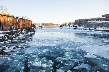 IJswater bij Suomenlinna, Finland