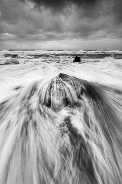 Eisblock mit Welle von Ralf Lehmann