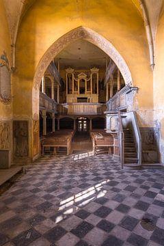 Verlaten Kerk in Polen. van