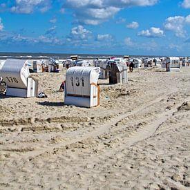 Spiekerooger Strand van Andrea Fettweis