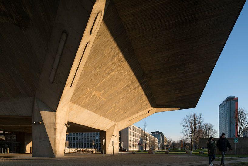 Aula gebouw TU-Delft van Raoul Suermondt