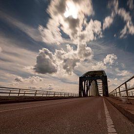 le Oude IJsselbrug Zwolle sur Michel Knikker